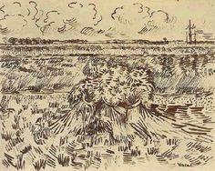 pen and ink van gogh - Google Search