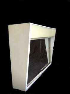 Vintage-50s-Mid-Century-Modern-Lighted-Mirror-Medicine-Cabinet ...