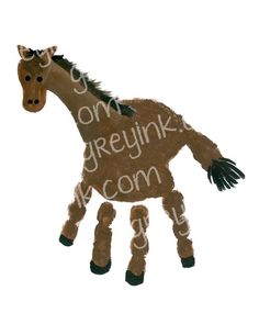 Rodeo Crafts, Farm Crafts, Daycare Crafts, Camping Crafts, Preschool Crafts, Horse Crafts Kids, Animal Crafts For Kids, Animal Projects, Toddler Crafts