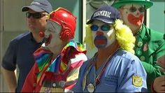 There's no clowning around during a solemn moment at the Seafair kickoff ceremony