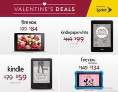 Fire & Kindle Valentine's Deals