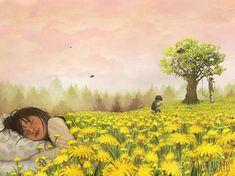 Good night! Доброй ночи! ⭐️Author @lisaaisato #illustrationart #illustration #illustrator #illustrations #childrensillustration… Art And Illustration, Dandelion Flower, Best Artist, Cute Drawings, Pop Art, Art Photography, Instagram, Lotta, Fantasy