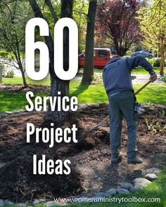 60 Service Project Ideas - Use this list when your women's ministry team plans it's next service project. #serviceproject #missionproject #womensministry #outreach