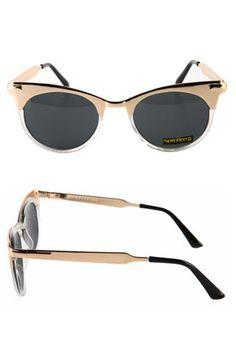 Today's Hot Pick :ANGLO 2-GLD/CL/BK http://fashionstylep.com/SFSELFAA0022541/stylenandacn/out 以伦敦为背景,采用划时代的现代设计手法使其在此诞生的英国品牌太阳镜, 经历无数次的策划,一直坚持生产以创意和时尚为主题的新产品, 是受到众多好莱坞明星及追求时尚潮人们喜爱的一个品牌, 多样的款式和合理的价格可以任意挑选的 SPITFIRE 可以在 STYLENANDA 里遇到哦!