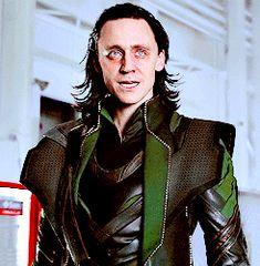 Loki... Love that look. (GIF)