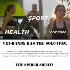 Spider Squat: Portable Squat Machine! Squat Machine, No Equipment Workout, Squats, At Home Workouts, Spider, Bring It On, Exercise, Goals, Marketing