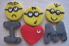 Mis cookies Minions by HomeMer Cookies & More