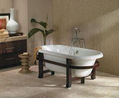 Jacuzzi ERD7142 BCW ERA7142 DBL END RH NJ - Clawfoot & Freestanding Tubs - Bath Tubs - Bathroom