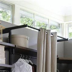 kyriel curtain rail for wardrobe storage system am pm la redoute mobile. Black Bedroom Furniture Sets. Home Design Ideas