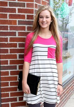 Everyday Tunic with Pocket $25