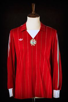 1984 Turkey vs. Hungary match worn by Ferenc Csongrádi (see our blog post for more details)