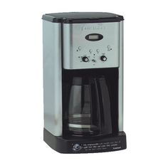 Cuisinart Programmable Coffee Maker Review. Fill it at night, it turns on automatically and a fresh cup of coffee is waiting for you!