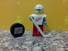 Lego NHL Custom Detroit Red Wings Hockey Minifigure Add Personalization | eBay