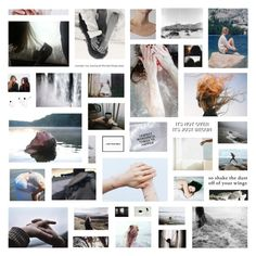 """God forgive our minds, we were born to roam //// moodboard"" by cosmic-grace ❤ liked on Polyvore featuring art"