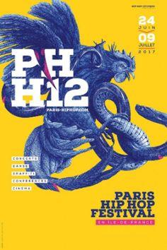 Programmation Paris Hip Hop 2017 #festival #musique #hiphop