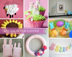 easter ideas - over 40 easter ideas from egg hunts, free printables, recipes, crafts and more of the very best easter ideas on the web!