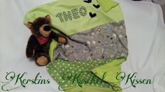 Kuschel Decke fürs Baby handmade by me