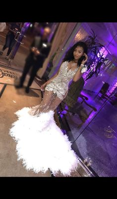 Sequined prom dress for mermaid homecoming dresses 2019 for more celebrations of Black Beauty, Excellence and Culture♥️✊ Black Girl Prom Dresses, Cute Prom Dresses, Prom Outfits, Event Dresses, Homecoming Dresses, Formal Dresses, Wedding Dresses, Prom Goals, Prom Night