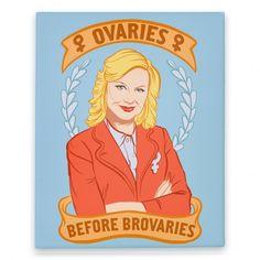 Ovaries+Before+Brovaries+Canvas+Print