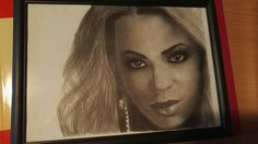 Beyonce - graphite drawing