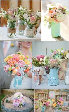 Ideas and Inspiration for your Pastel Wedding: Boho Weddings - UK Wedding Blog