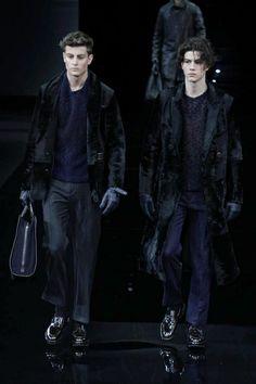 Giorgio Armani Menswear Fall Winter 2014 Milan - NOWFASHION