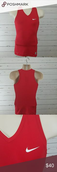 Nike Womens Pro Compression Shirt Red Small Nwt Nike Womens Pro Compression Shirt Red Small Nwt  B1 nike Tops