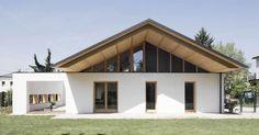 [inspiration] Une maison italienne à architecture bioclimatique et isolée en paille