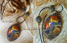 Dea Le Farfalle Bead Embroidery