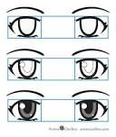 Anime eyes how to draw