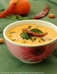 Indian Cuisine: Peanut and Tomato Chutney Recipe