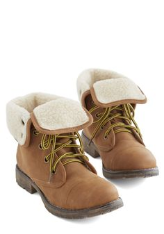 Logging Miles Boot in Cognac. Lead your healthy lifestyle fashionably by sporting these magnificent-for-miles vegan faux-leather boots! #tan #modcloth