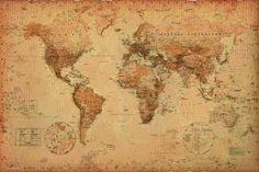 antique world map - Google претрага
