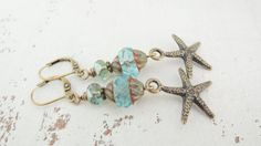 Hey, I found this really awesome Etsy listing at https://www.etsy.com/listing/468088415/reserved-for-jerelyn-starfish-earrings