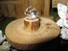 Fairy Garden Tiny Gazing Ball by PixiesPatch on Etsy