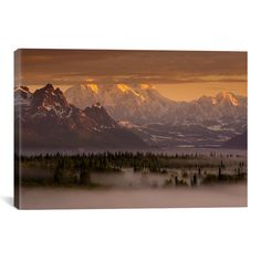 Found it at Joss & Main - Moods of Denali Canvas Print