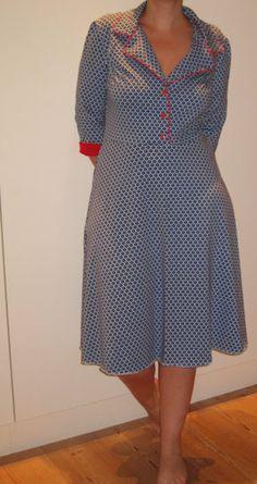 Patroon kleding - Het patroon Telma jurk+blouse+rok maat 46-48-50 - Een uniek product van VintageEnRetroNaaipatronen op DaWanda