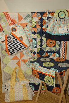 Riley Blake Designs Blog: Spring Quilt Market in Portland 2013