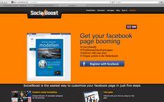 Devopment of www.socialboost.nl