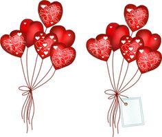 tubes St-Valentin Valentine Day Love, Valentine Crafts, Shrink Art, I Love Heart, Scrapbooking, Heart Balloons, Silhouette Art, Homemade Cards, Heart Shapes