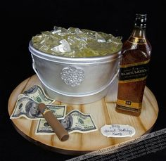 Amazing Fondant Cakes   Amazing Fondant Cakes / Johnnie Walker Birthday cake by Design Cakes ...
