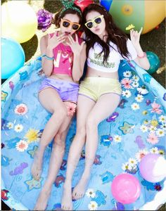 Hyeri and Yura - Girl's Day Darling Concept Photo