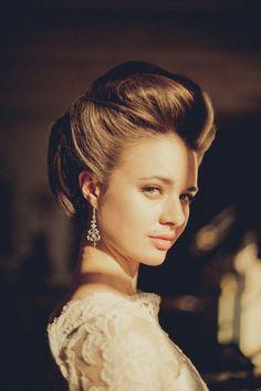 Vintage Glam | Feminine Bridal Hair