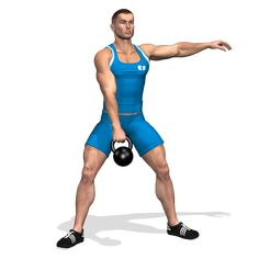 ONE ARM KETTLEBELL SUMO SQUAT  INVOLVED MUSCLES DURING THE TRAINING GLUTES