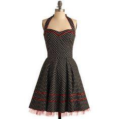 cute retro vintage style dress