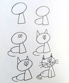 How to draw simple figures? The post How to draw simple figures? … appeared first on Best Pins for Yours - Drawing Ideas Drawing Lessons, Drawing Skills, Drawing Techniques, Figure Drawing, Drawing Tutorials, Painting & Drawing, Drawing Tips, Drawing Ideas, Cat Drawing