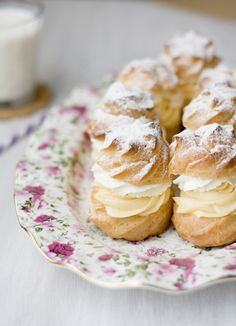 The best cream puffs! traditional Croatian food