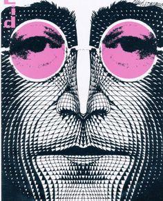 Based on an original drawing of John Lennon created by Klaus Voormann in Jasper Johns, Roy Lichtenstein, Beatles Art, The Beatles, Andy Warhol, John Lennon, Dali, Richard Hamilton, Pop Art