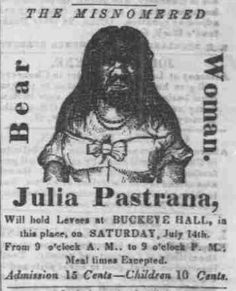 The Journal (Fremont, OH) 13 July 1855 - Julia Pastrana