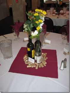 wine themed shower for all the upcoming weddings im in prettier flowers wedding shower decorationsbridal shower centerpiecesbridal